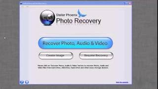 How to use Stellar Phoenix Photo Recovery