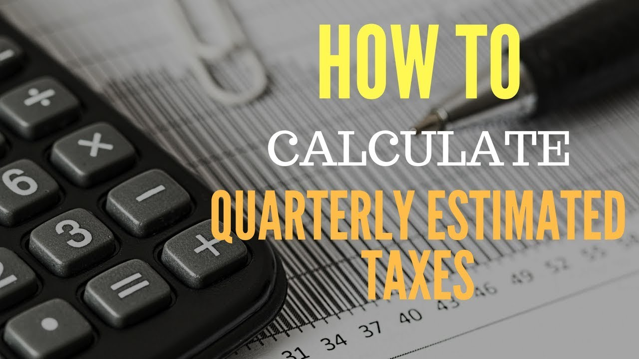 How to Calculate Quarterly Estimated Taxes | simpleetax