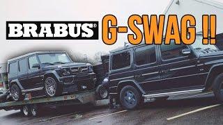 GWAGEN TOWING GWAGON - BRABUS G63 AMG Rtec build video