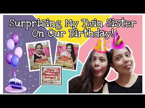 Видео: Happy Birthday | It's My Twin's Birthday | Countdown Sweet 15