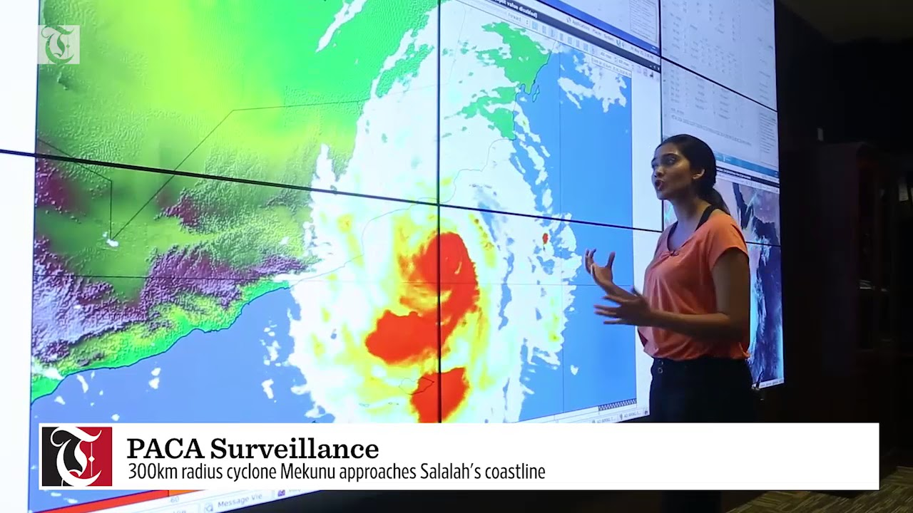 Weather update: Get the latest on Cyclone Mekunu from PACA's Salalah headquarters