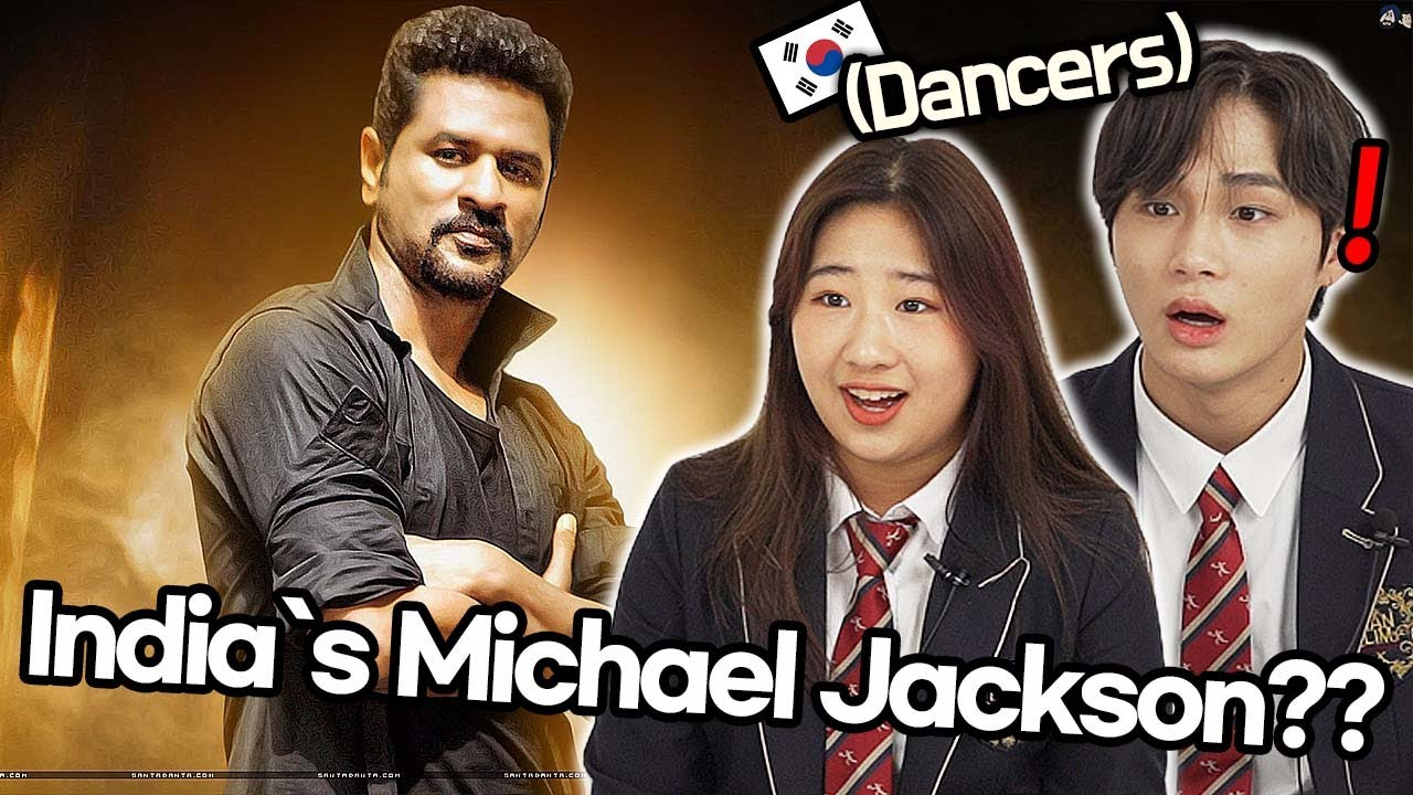 Download Korean teen dancers watch India's MOST FAMOUS Dancer 'Prabhu Deva'!