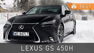 Lexus GS 450h F Sport (2016) - test [PL] [review ENG sub] | Project Automotive