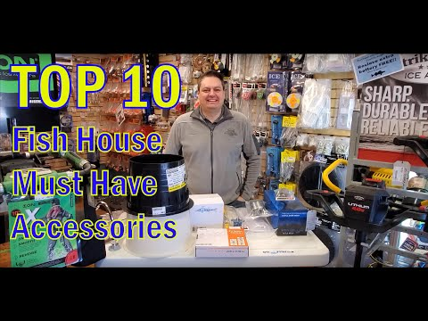 TOP TEN Must Have Fish House Accessories GoIceFish.com