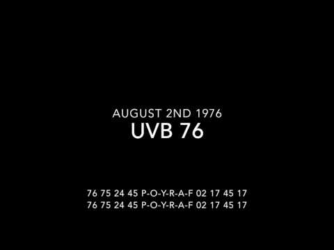 UVB 76 in august 1976 MUST WATCH! RARE