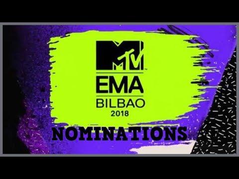 2018 MTV Europe Music Awards Nominations | Full Nominees List