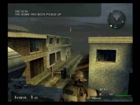 (Ps2) Socom 3 Demolition on Liberation Multiplayer Gameplay