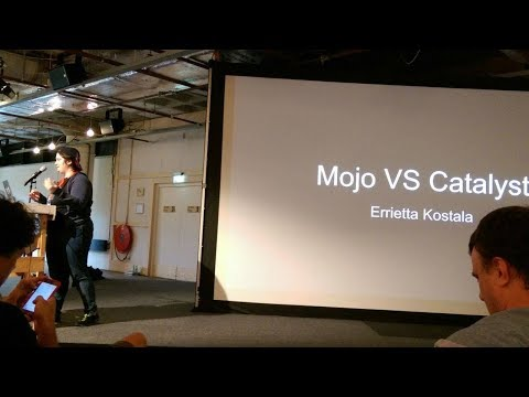 Catalyst VS Mojolicious - The Perl Conference in Amsterdam 10th August 2017 Errietta Kostala