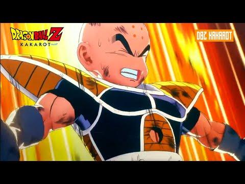 DBZ: Kakarot - Krillins Death Goku Becomes Super Saiyan Full Scene