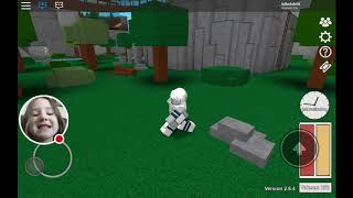 Blox hunt on roblox . I mest up I sed blox burg in sted of roblox!