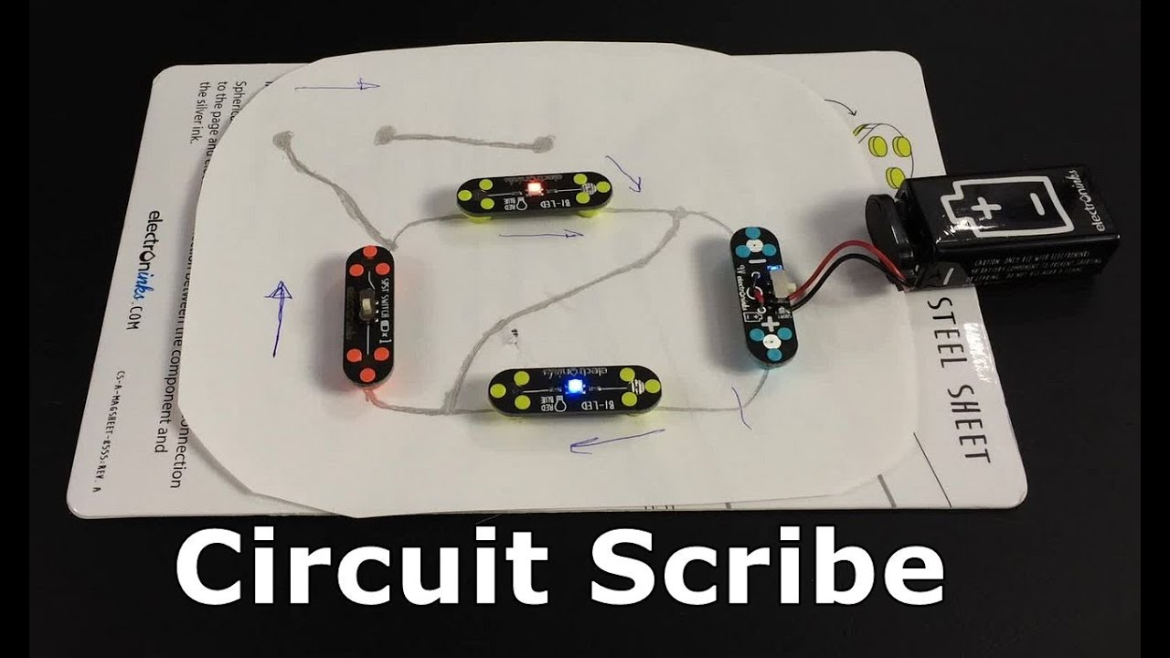 Learning Electronics With Circuit Scribe Youtube Basic Kit The Contains A Pen