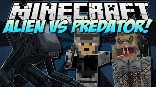Minecraft мод alian vs predator + карта