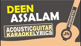 Download lagu Nisa Sabyan - Deen Assalam (Karaoke Acoustic Cover) I Jhacoustic