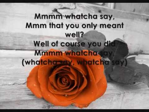 Whatcha Say - Jason Derulo Ft. Imogen Heap {WITH LYRICS!!!}