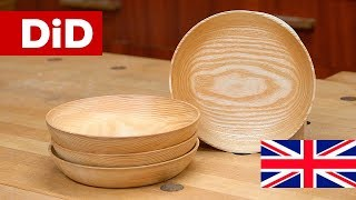 902. Wooden ash bowls - execution on a lathe