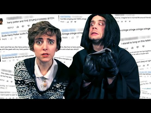 Snape Reads My Hate Comments ft Joe Moses