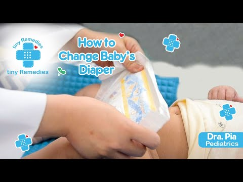 Ask a Pedia | How to Change Baby's Diapers