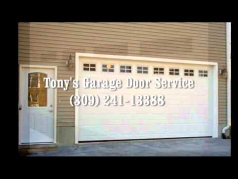 Tonys Garage Doors Peoria IL  Pekin IL 309 241  YouTube