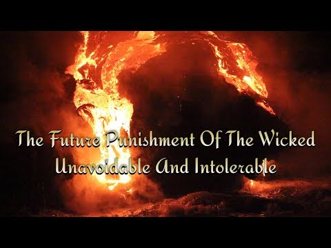 The Future Punishment Of The Wicked, Unavoidable And Intolerable by Jonathan Edwards