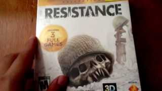 Resistance Collection Unboxing Video for PS3