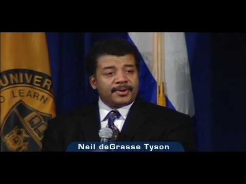Neil deGrasse Tyson at UB: God and Science
