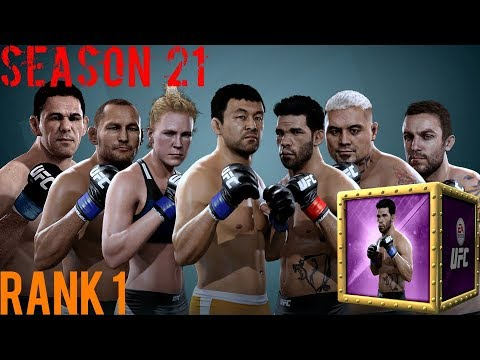 EA SPORTS UFC Mobile - H2H Season 21 Rank 1 Reward Opening!