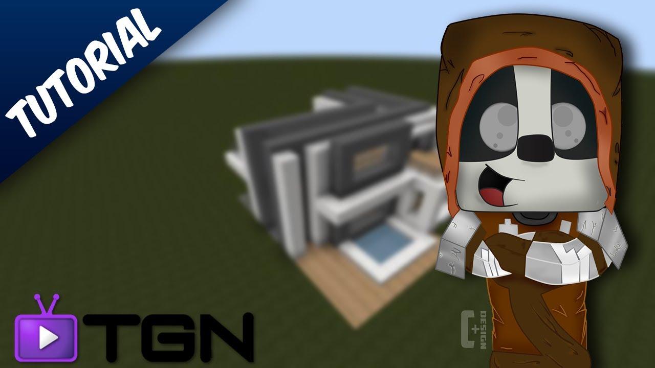 Minecraft como hacer una casa moderna 15x15 4 youtube for Eumaster casa moderna 8x8