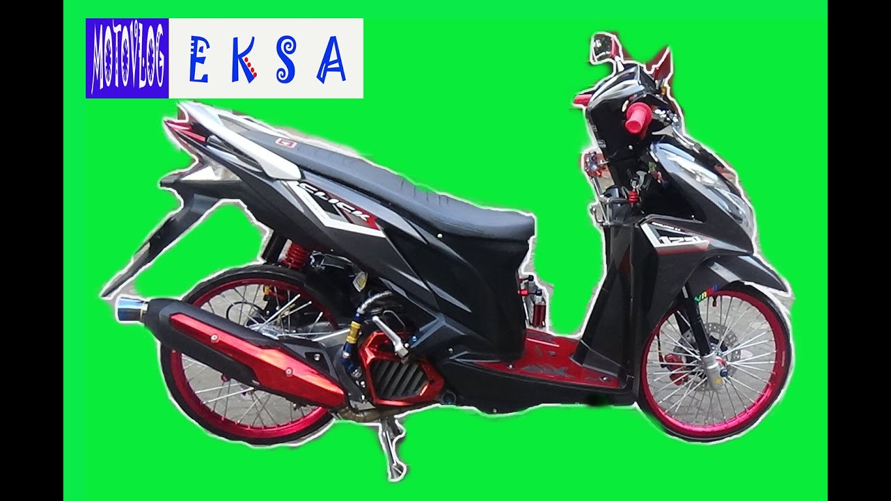 Ajipnya Honda Vario 125Fi Modifikasi Fhasion Daily 3 YouTube