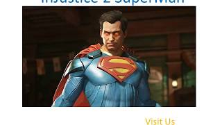 Best Video Games For PS4 InJustice 2