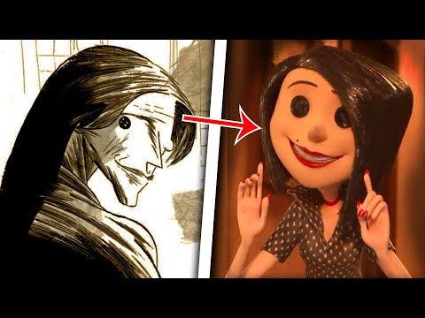 The VERY Messed Up Origins of Coraline (Pt. 1) | Coraline Explained - Jon Solo