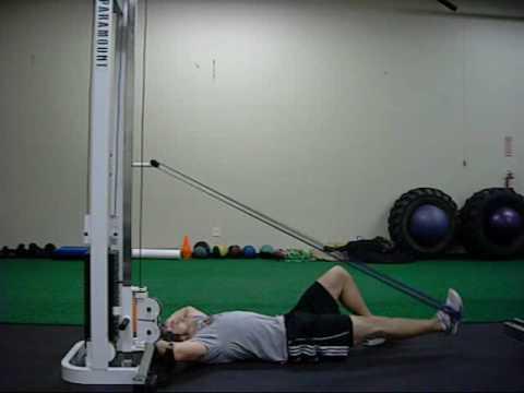 Supine Hip Extension W/ Band (www.trainatp.com)