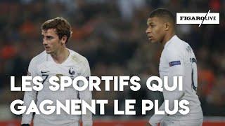 Qui sont les sportifs français les mieux payés en 2018 ?