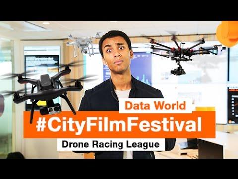 La Data World, le City Film Festival et Drone Racing League