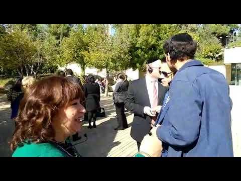 Anthony Scaramucci visiting Yad Vashem