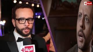 عمرو القاضي على السجادة الحمراء: