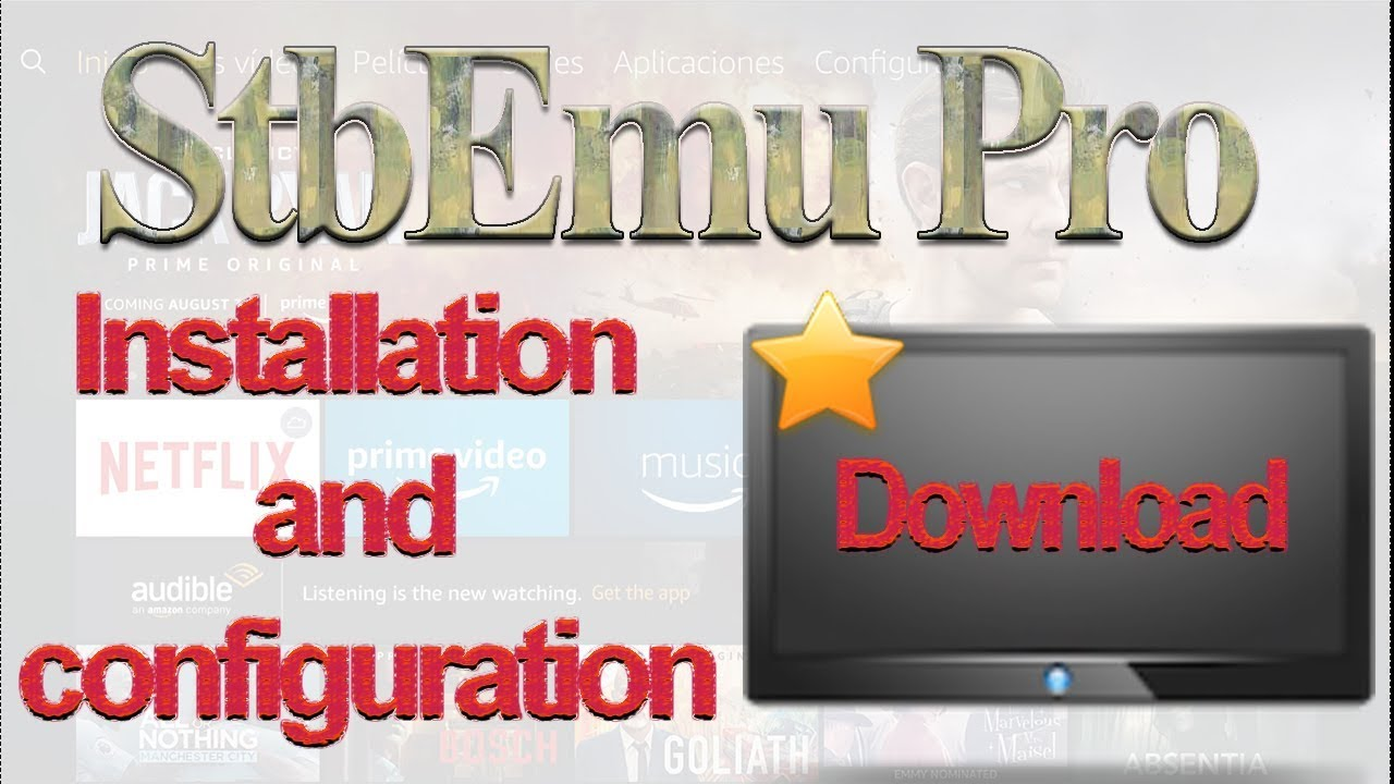 StbEmu pro on fireTV Stick | Installation and configuration