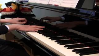 楽譜は、ヤマハの 「月刊ピアノ2013年12月号」 のものを使い ました。や...