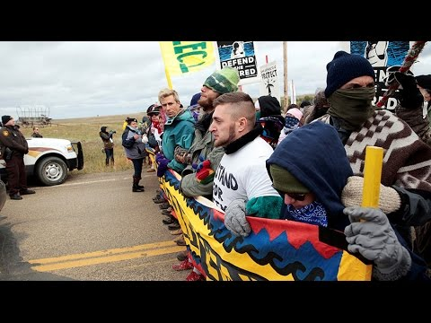 Dakota Access Pipeline protesters hold national 'Day of Action'