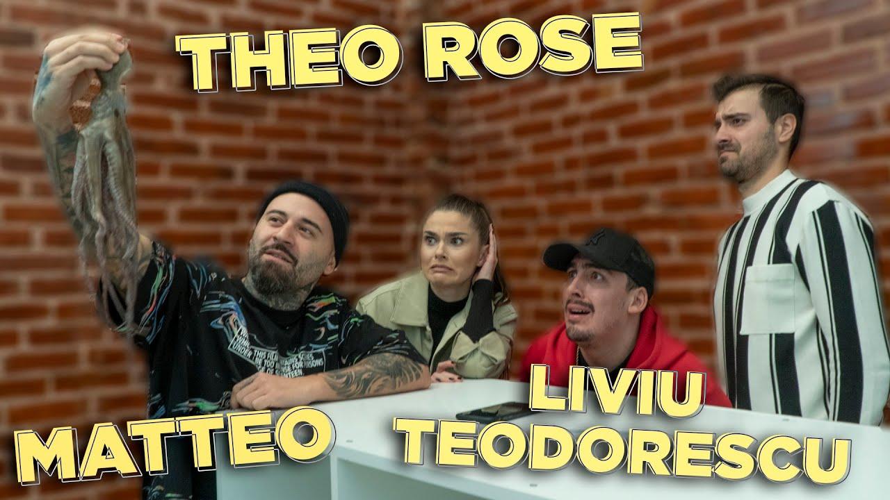 CUTIA LU' GHIDUSH - THEO ROSE, MATTEO si LIVIU baga mana la CARACATITA