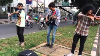 Canon rock di cover biola instrumen by pengamen car Free Day sudirman