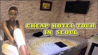 CHEAP HOTEL TOUR IN SEOUL  (SOUTH KOREA)