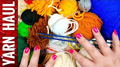 Free Craft Stash || Downsizing Haul || Free Yarn Supplies
