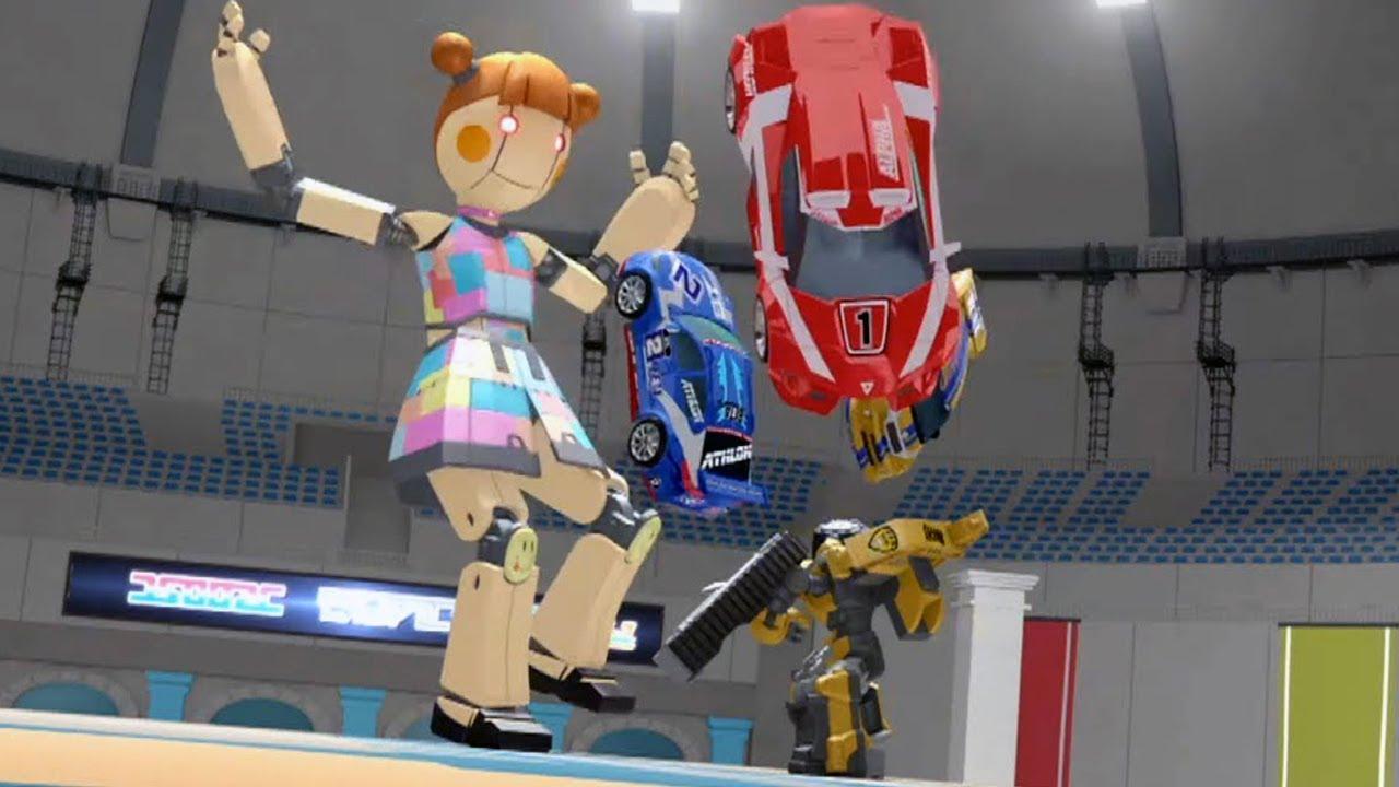 ТОБОТ - Атлон - Испытания и награда (24 серия 2 сезон) | Машинки Трансформеры Роботы Тоботы