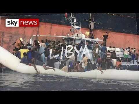 Libya's overflowing migrant prisons