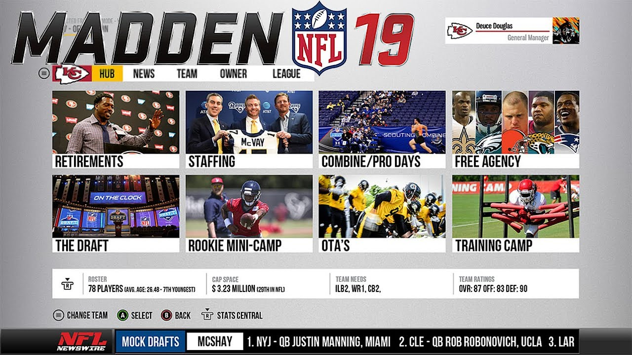 DEEP DIVE INTO MADDEN 19 FRANCHISE MODE (CUSTOM DRAFT CLASSES, PLAYER ARCHETYPES)