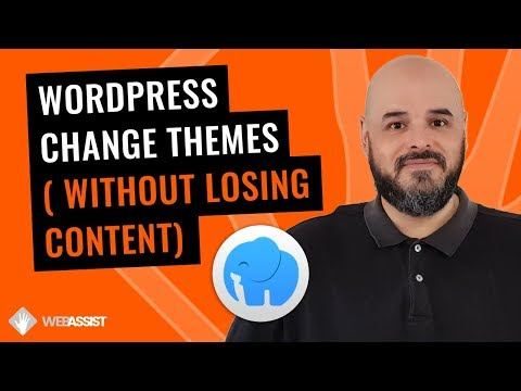 WordPress - Change Themes Without Losing Content (The Stress Free Way) thumbnail