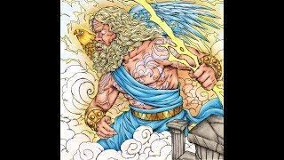 Coloring Tutorial | Zeus (Fantasia) Nicholas Filbert Chandrawienata