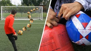 HELIUM FOOTBALL CHALLENGES!!!