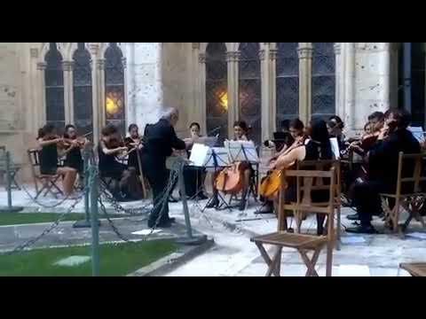 Yana Eminova with NY music school in Spain 2017
