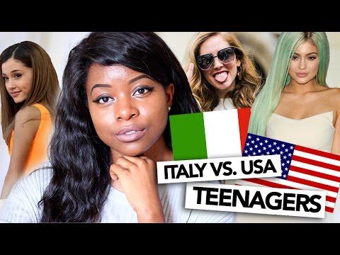 ITALY VS USA | TEENAGERS